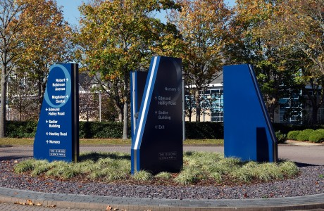 Oxford Science Park Signage